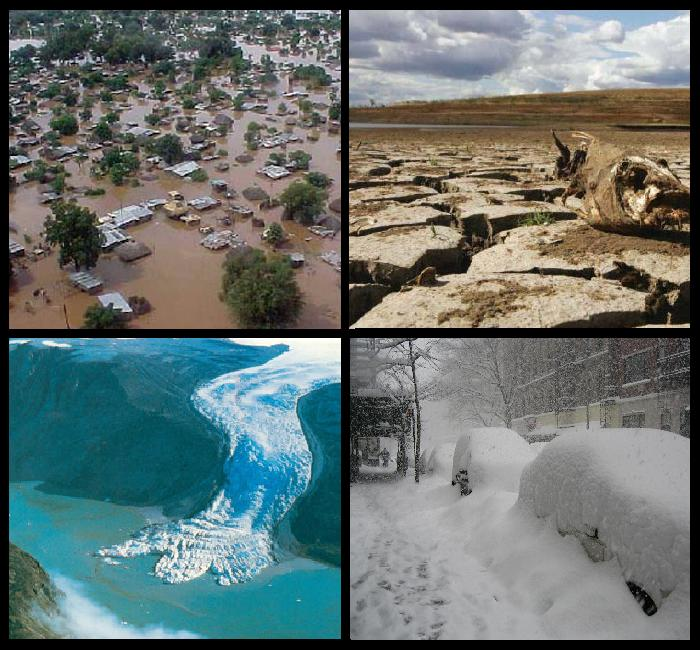 humans cant change extreme weather conditions and weather severity Climate change also affects humans through an increased frequency of extreme weather: hurricanes, floods, droughts, and heat waves, some of it occurring right now at least, it's likely.