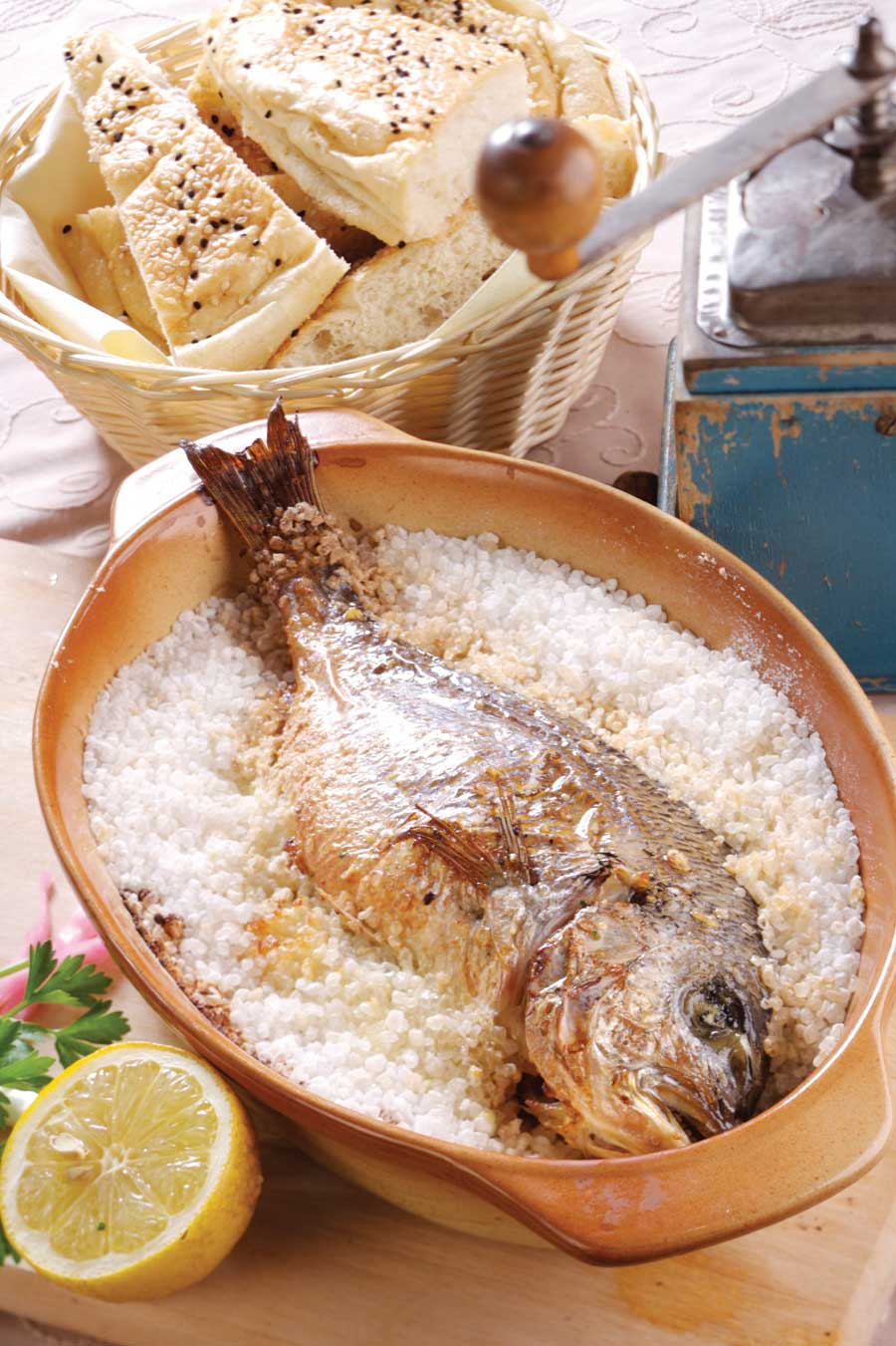 Salt the reasons for enjoying it green for Saltwater fish food