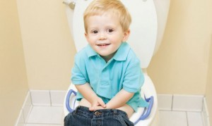 helathy poop kid