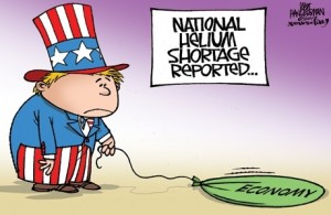 Helium shortage cartoon