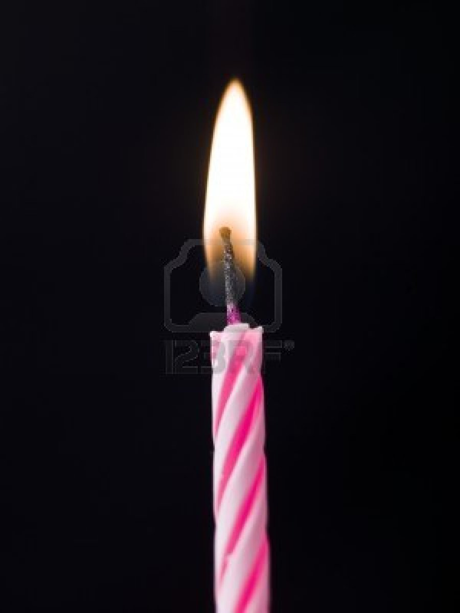 Long Birthday Cake Candles