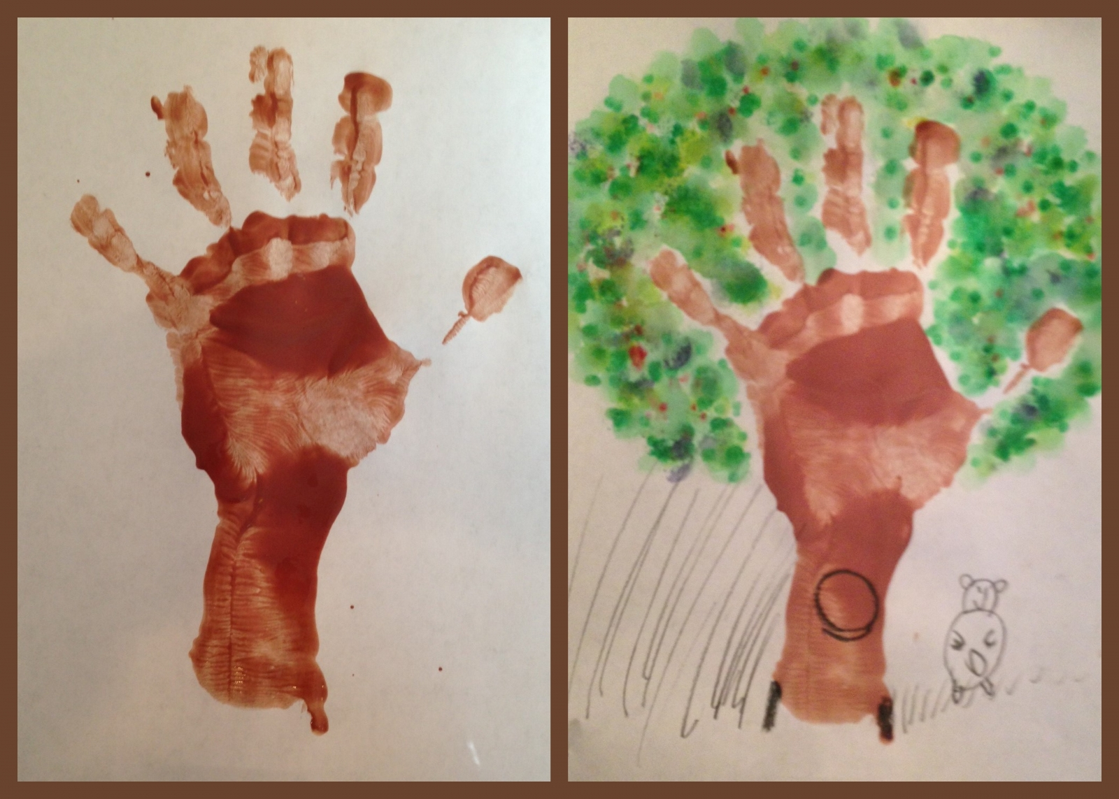 Handprint Craft How To
