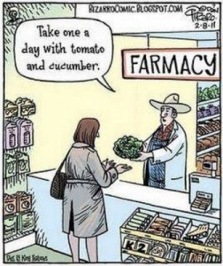 food-as-medicine cartoon