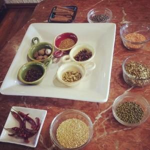 spices grains