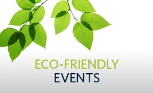 Eco-friendly events banner