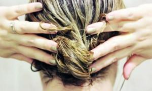 Natural summer hair