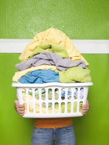 green-laundry stack