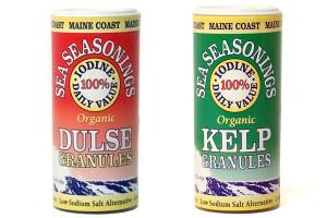 Dule and kelp granules