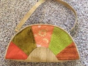 Upcycled purse