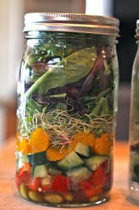 mason-jar salad