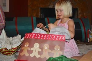 B opening presents