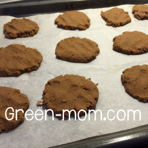 Nut milk pulp cookies