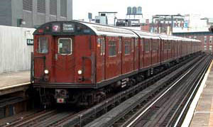 old subway cars