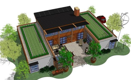 What is a net zero home for Net zero house plans