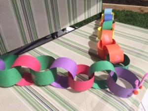 carterpillar paper crafts