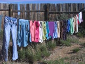 Hangdrylaundry