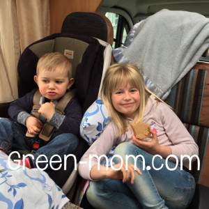 Snacktime in campervan