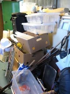messy storage