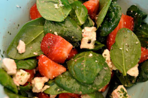 Strawberry feta salad main