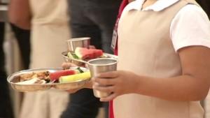 organic school lunch