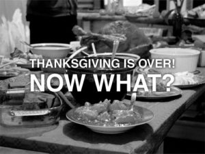 thanksgivingisover