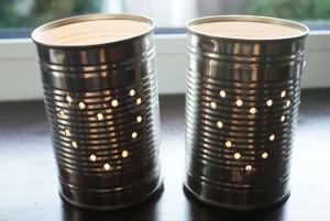 1tincan lanterns