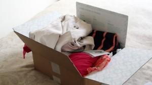 clothing sharing box