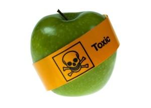 pesticides apples