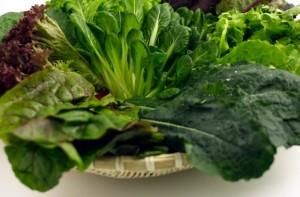 green leafy vegs