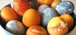 natural dyes eggs