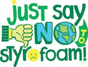 say no to styro foam