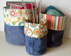 denim baskets
