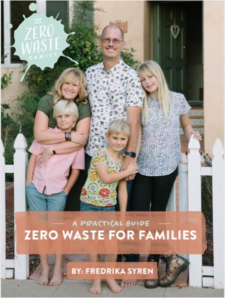 Buy our book - Zero Waste for Families