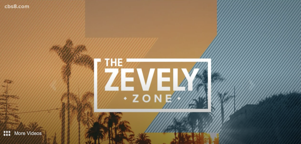 CBS 8 - The Zevely Zone Video
